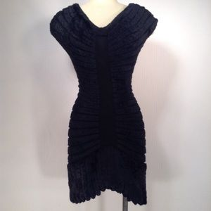 Vintage Alaia 94 Houpette Chenille Dress Small